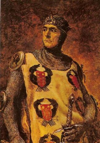 Guillem Ramon de Montcada (pintura de Ramon Tusquets, 1888)
